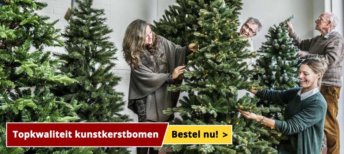 Kunstkerstbomen tot 30% korting