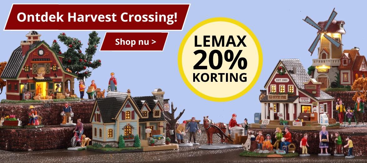 Lemax Harvest Crossing