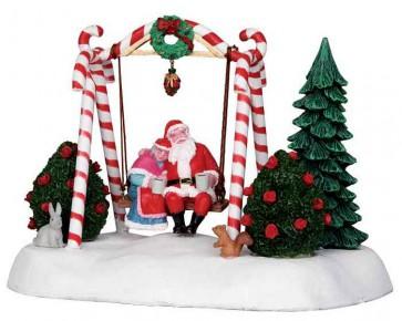 Lemax Santa Swing
