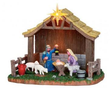 Lemax Nativity Scene
