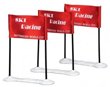 Lemax Ski Racing Flag