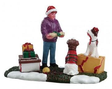 Lemax Santa'S Pets