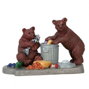 Lemax Bear Buffet