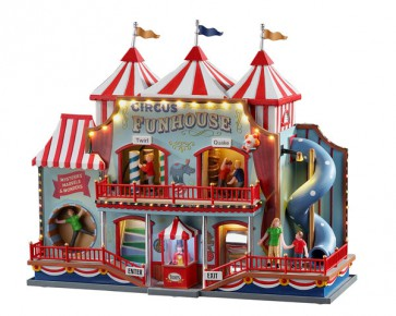 Lemax Circus Funhouse + 4,5 Volt Adapter