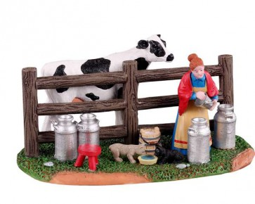 Lemax Victorian Dairy Farmer