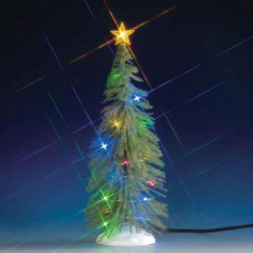 Lemax Chasing Multi Light Spruce Tree