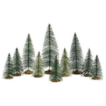 Lemax Needle Pine Trees