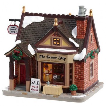 Lemax The Pewter Shop