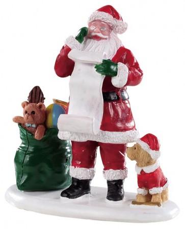 Lemax Naughty Or Nice Santa
