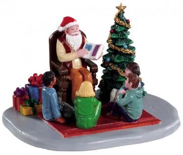 Lemax Storybook Santa