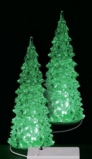 Lemax Crystal Lighted Tree, 3 Color Changeable, Medium