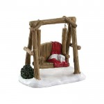 Lemax Rustic Log Swing