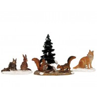 Lemax Woodland Animals