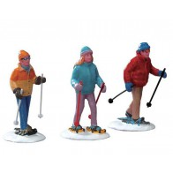 Lemax Snowshoe Walkers
