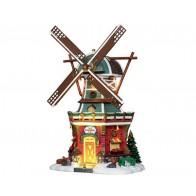 Lemax Stony Brook Windmill + 4,5 Volt Adapter