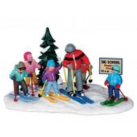 Lemax Ski School