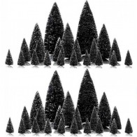 Lemax Assorted Pine Trees 42 Pc