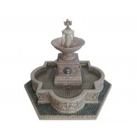 Lemax Modular Plaza-Fountain + 4,5 Volt Adapter