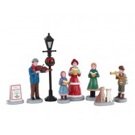 Lemax Baily'S Music School Carolers