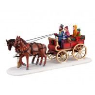 Lemax Carriage Cheer