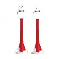 Lemax Polar Bear Street Lamp