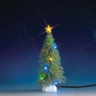 Lemax Spruce Tree With Multi Light