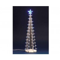 Lemax Lighted Silhouette Tree(Blue), L