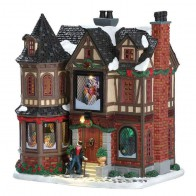 Lemax Scrooge'S Manor + 4,5 Volt Adapter