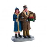 Lemax Christmas Couple