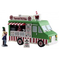 Lemax Peppermint Food Truck