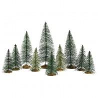 Lemax Needle Pine Trees 10 pc