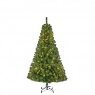Black Box Trees Charlton kunstkerstboom led groen 140L TIPS 525 - h185xd115cm