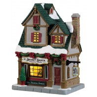 Lemax The Secret Santa Christmas Shoppe