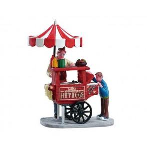 Lemax Hot Dog Cart
