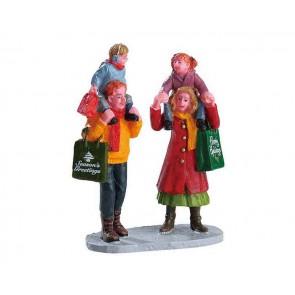 Lemax Family Christmas Shopping