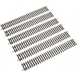 Piko rechte railzen 6 stuks