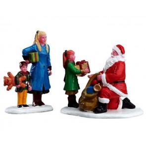 Lemax Presents From Santa