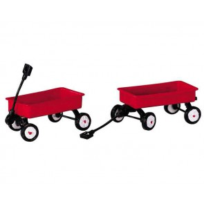 Lemax Red Wagons