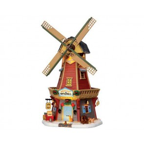 Lemax Harvest Valley Windmill + 4,5 Volt Adapter
