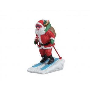 Lemax Santa Skier