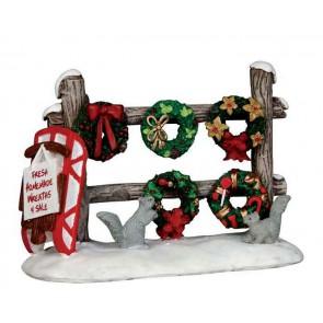 Lemax Christmas Wreaths 4 Sale