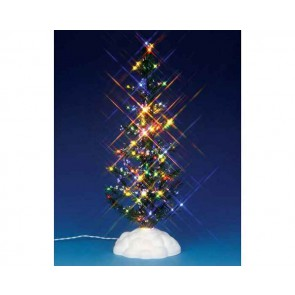 Lemax Lighted Pine Tree, Multi, Large