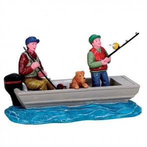 Lemax Family Fishing Trip