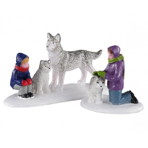 Lemax Future Sled Dogs