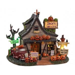 Lemax Jack'S Pumpkin Farm