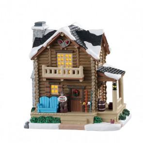 Lemax Pop'S Cabin