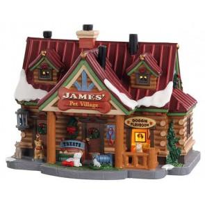 Lemax James' Pet Village