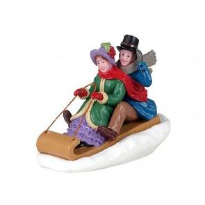 Lemax Victorian Toboggan Ride