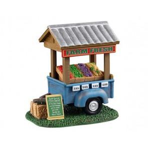 Lemax Farm Fresh Vegetable Trailer
