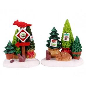 Lemax Tree Farm Display